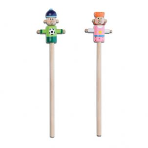 Pencil with Character Topper